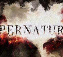 Supernatural Cover Sticker