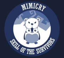 Mimicry, skill of the survivors - Penguin. Kids Tee