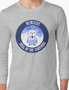 Mimicry, skill of the survivors - Penguin. Long Sleeve T-Shirt