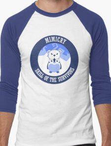 Mimicry, skill of the survivors - Penguin. Men's Baseball ¾ T-Shirt