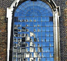 St James' Church Window, London by Ludwig Wagner