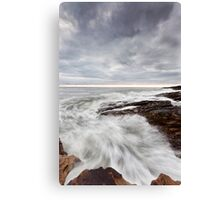 Channel Rush Canvas Print