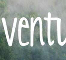 Adventure Pinetrees Sticker