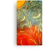 Flowing WILD and Free in Summer Sun Canvas Print