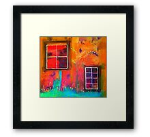 The View From My House Framed Print