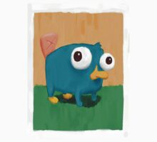 Baby Perry the Platypus One Piece - Short Sleeve