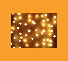 Blur image of yellow round light bulb Unisex T-Shirt