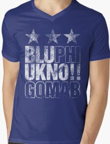 Discreetly Greek :: Phi Beta Sigma ::: Got the BLU's  Mens V-Neck T-Shirt