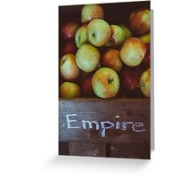 Empire Apples Greeting Card