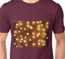 Abstract image - round, yellow and dim lights Unisex T-Shirt