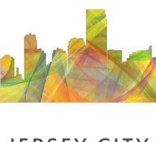 Jersey City, New Jersey Skyline Sticker