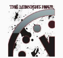 The Midnight Hour Logo Tee by Jameil Burroughs