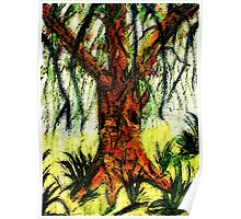 My Dream tree, watercolor Poster