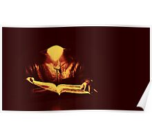 Midnight reader Poster