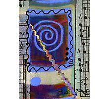 The Spiral Pane Moves to Music Photographic Print