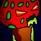 halloween night of mushroom monsters  by StuartBoyd