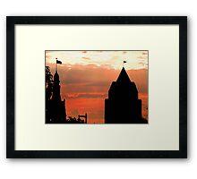 Milwaukee Sunset © Framed Print