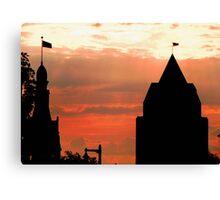 Milwaukee Sunset © Canvas Print