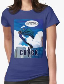 CHICK Leap Womens Fitted T-Shirt