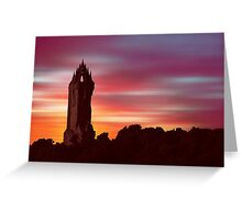 Braveheart Dawn Greeting Card