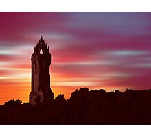 Braveheart Dawn Photographic Print