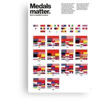 Medal matters (I) Canvas Print
