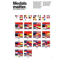 Medal matters (I) Photographic Print