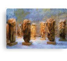 Headless Roman Statues Canvas Print