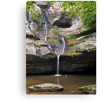 Cedar Falls in Ohio's Hocking Hills Canvas Print