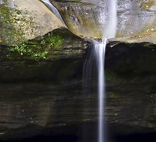 Cedar Falls Close Up - Hocking Hills, Ohio by Kenneth Keifer