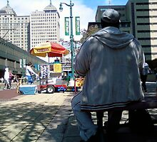 A TYPICAL DAY IN DOWNTOWN BUFFALO by catnip addict manor