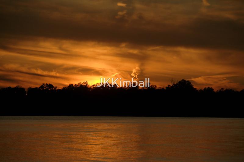 Smoking Sunset by JKKimball