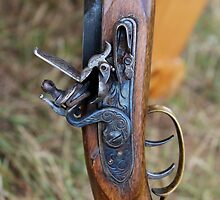 Flintlock rifle by Christina Adams
