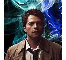 Supernatural Castiel  Photographic Print