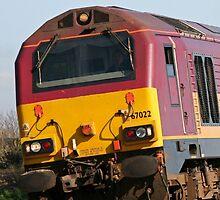 Class 67 vintage diesel loco 67022 by Tony Steel