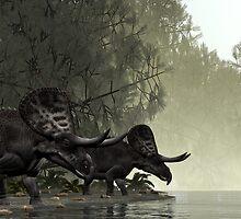 Zuniceratops by Walter Colvin