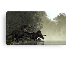 Zuniceratops Canvas Print