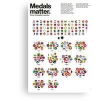 Medal matters (II) Canvas Print