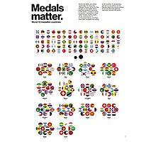 Medal matters (II) Photographic Print