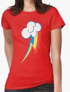 Rainbow Dash CM Womens Fitted T-Shirt
