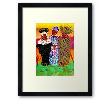 We Women Folk Framed Print