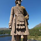 Glenfinnan Monument & Highlander by kalaryder