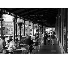Any time is coffee time Photographic Print