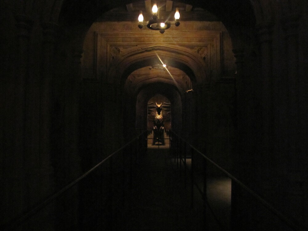 The Entrance to the Headmaster's Office by 1407graymalkin