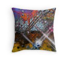 Cyclone Visual Art Throw Pillow