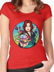 ILLUSTRIA Women's Fitted Scoop T-Shirt