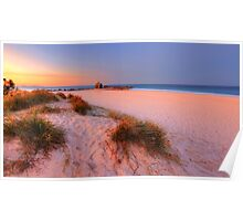 Sunset Glow at Currumbin Poster