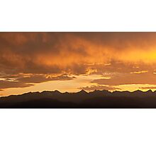 Colorado Crown Photographic Print