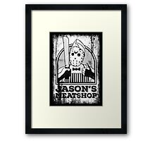 Pleased to Meat You! Framed Print