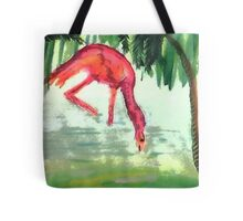Flamingo #3 , watercolor Tote Bag